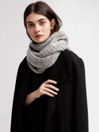 Lyst - Dkny Sequined Infinity Scarf in Gray
