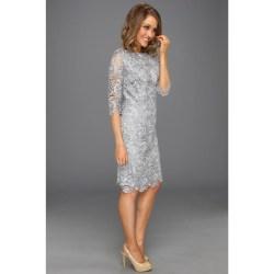 Small Crop Of Lace Sheath Dress