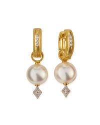 Jude frances Lisse Small 18k Gold Hoop Earrings W ...