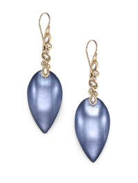 Alexis bittar Imperial Lucite & Crystal Lace Drop Earrings ...