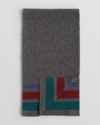 Lyst - Bloomingdale'S New Blanket Stripe Scarf in Gray for Men