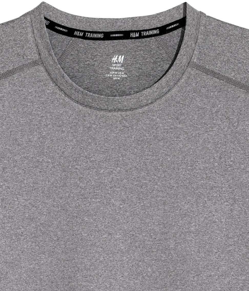 Delft H&m H M Sports Top In Gray For Men Lyst