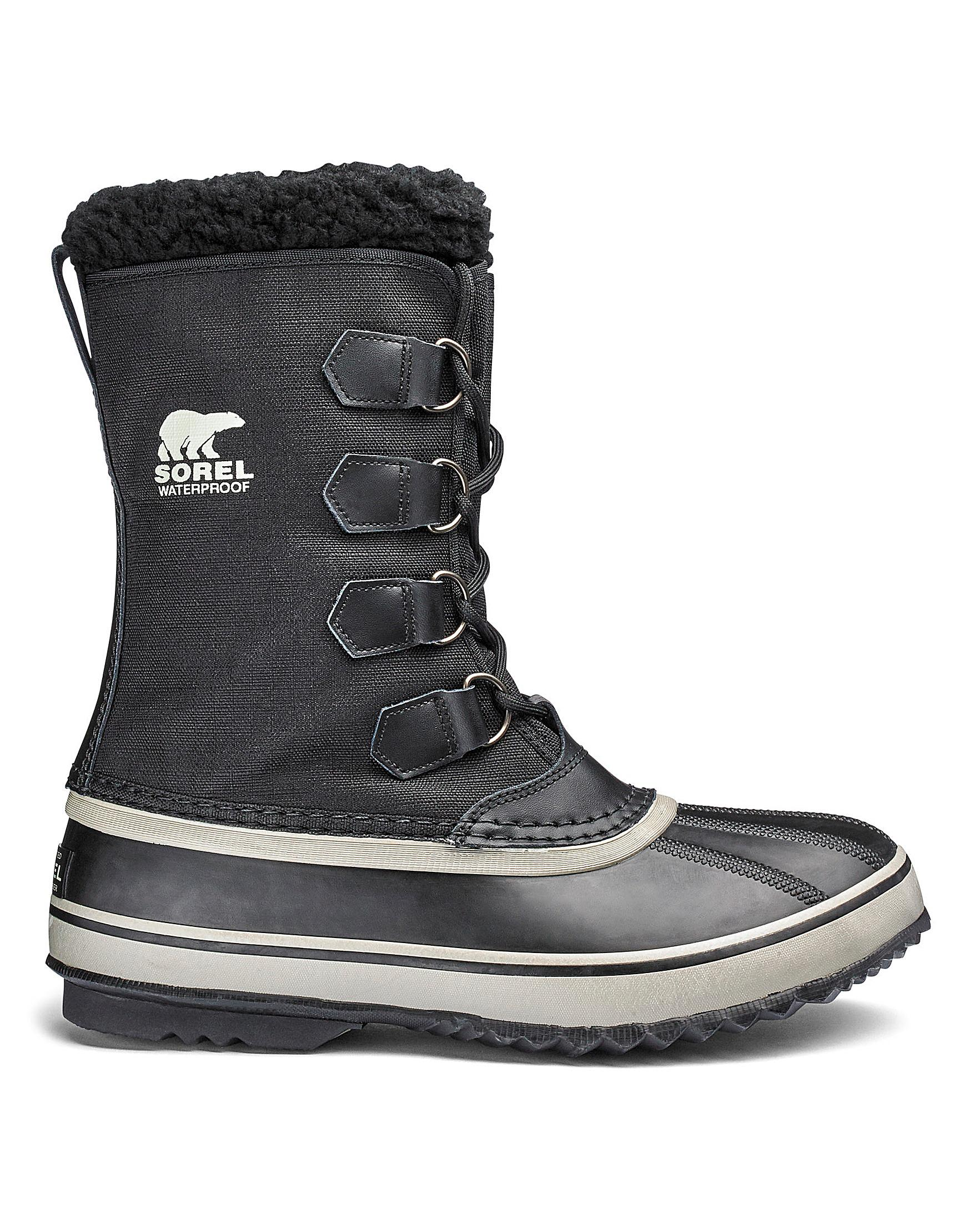 Lyst Sorel 1964 Pac Nylon Boots In Black