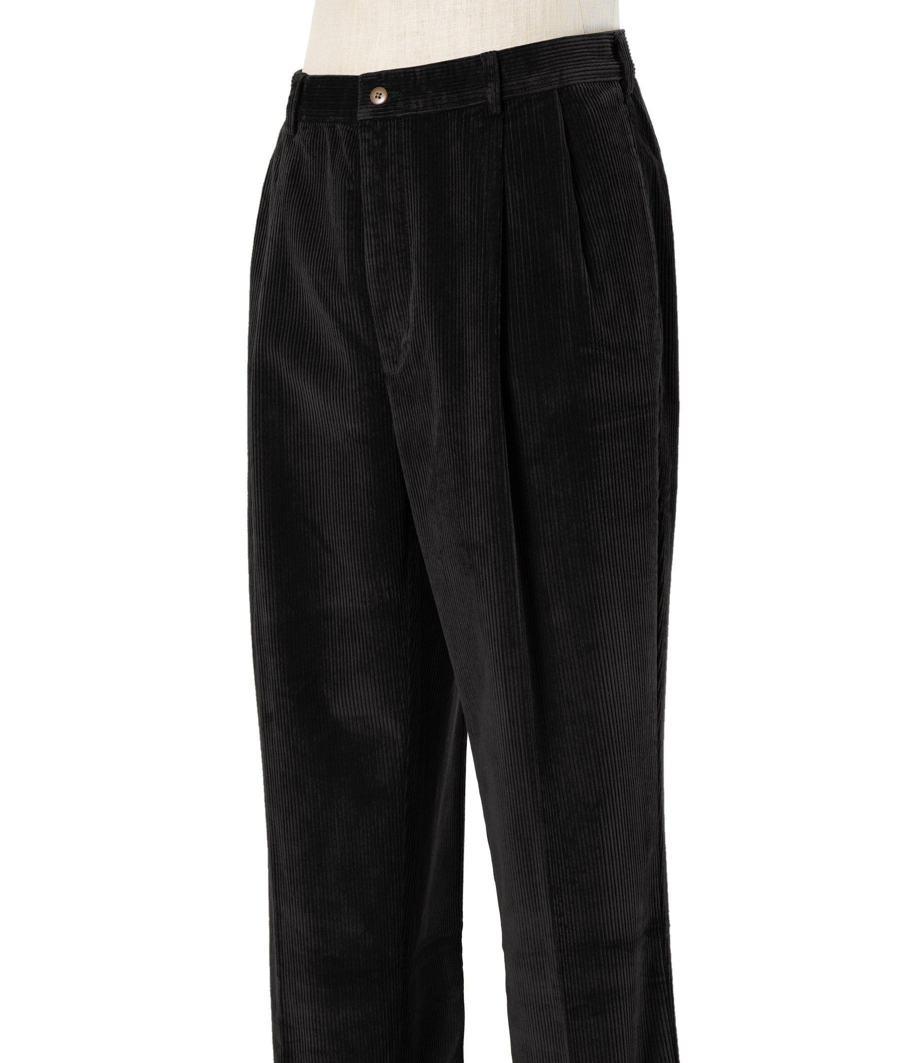 Bank Corduroy Jos A Bank Colorfast Casual Corduroy Pleated Front Pants