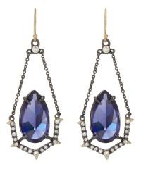 Lyst - Alexis Bittar Crystal Encrusted Suspended Stone ...