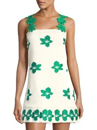 Alexis Pixy Floral Dress in Green - Lyst