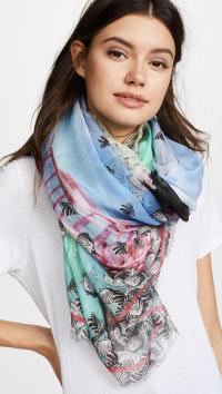 Lyst - Yigal Azroul Jaggie Kayaking Scarf in Blue