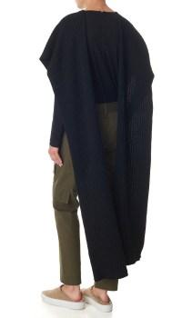 Lyst - Tibi Merino Wool Shawl in Black