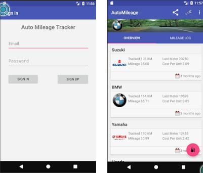 AutoMileage Free Mileage  Fuel Price Tracker App 105 apk download - free mileage app