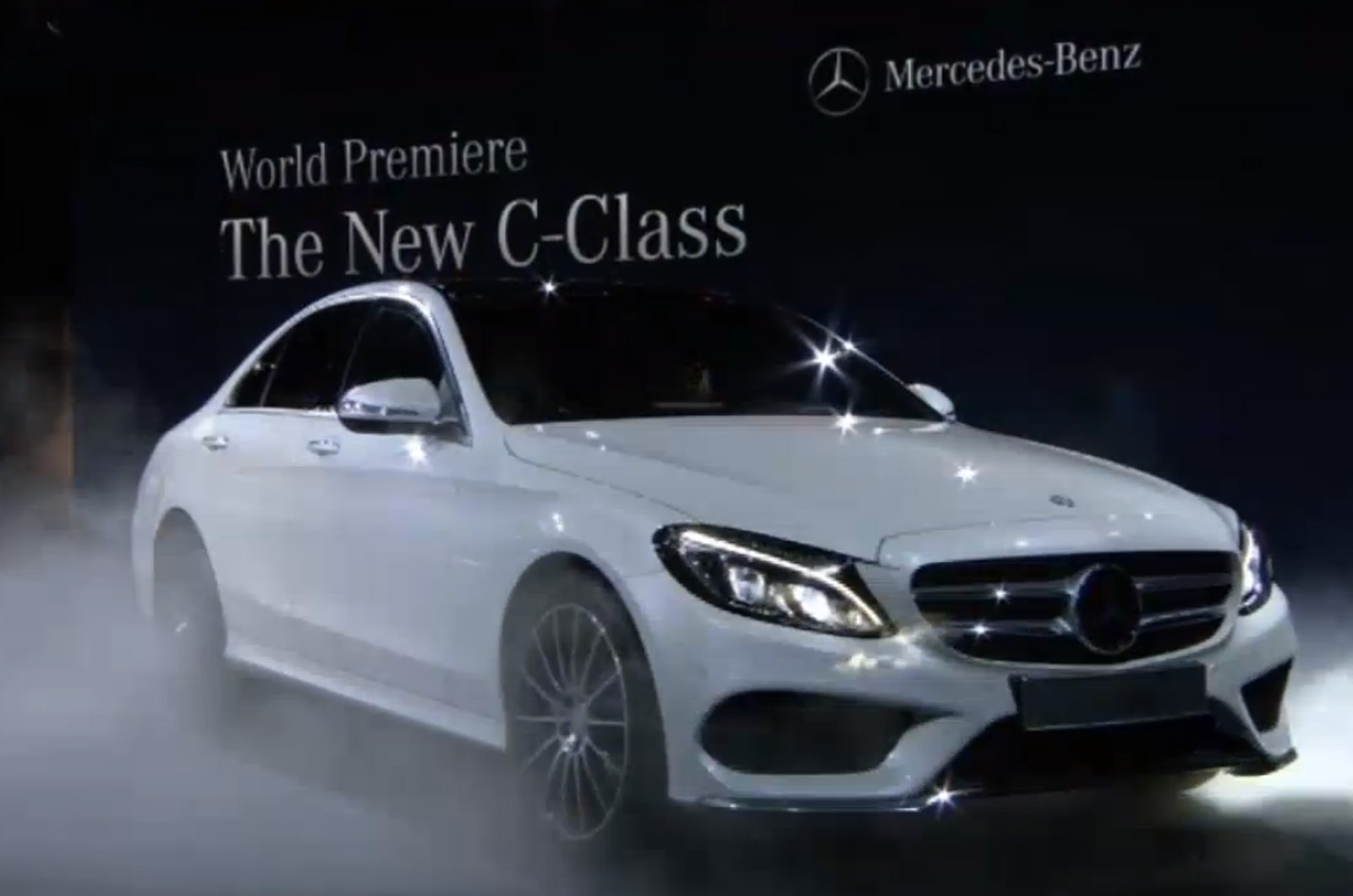 New C Class New Mercedes C Class Revealed At Detroit Motor Show 2014