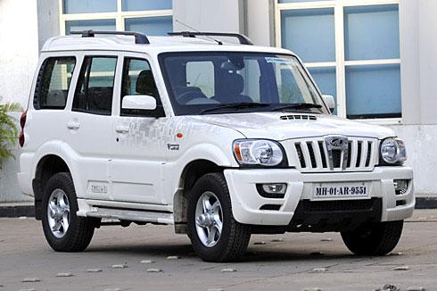 Mahindra Xuv 500 Wallpaper Hd In White Mahindra Scorpio Ex Launched Autocar India