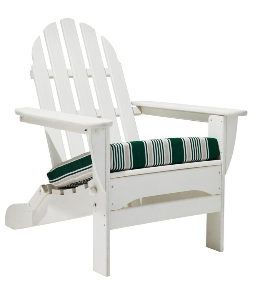 Casco Bay Adirondack Chair Seat Cushion Stripe