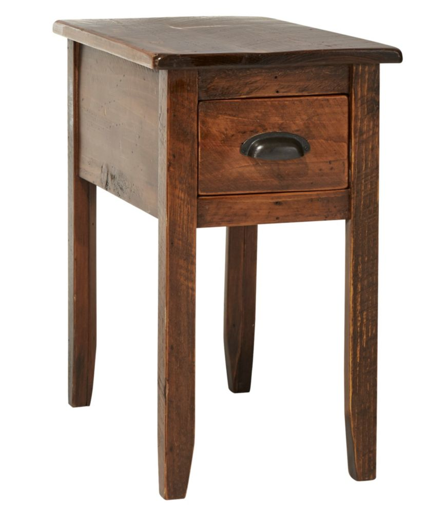 Rustic Wood End Table Rustic Wooden Side Table