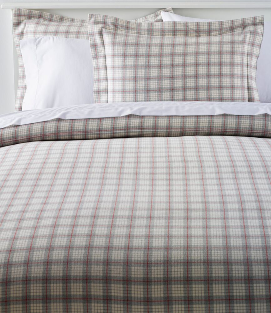 Duvet Covers And Comforters Heritage Chamois Flannel Comforter Cover Collection Plaid