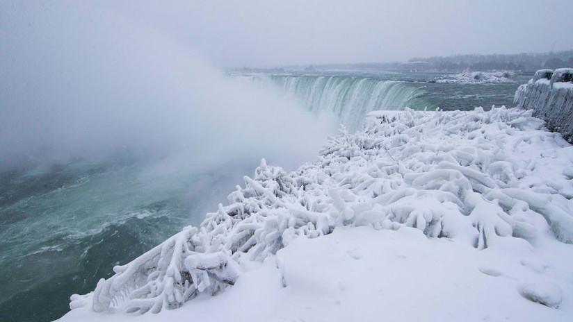 Niagara Falls Wallpaper Fotos Las Ins 243 Litas Im 225 Genes De Las Cataratas Heladas Del
