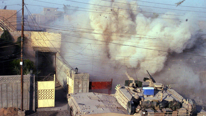 Epidemic of birth defects  cancer in Iraq after US-led war\u0027 \u2014 RT Op-ed