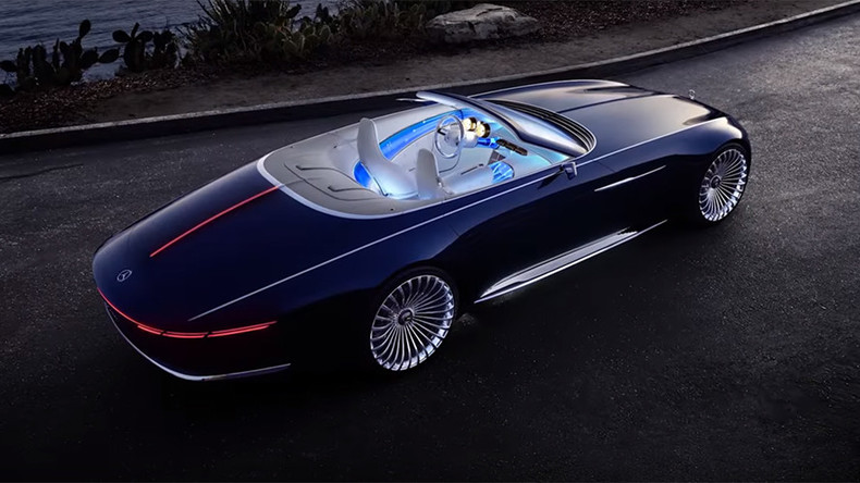 Bmw Car Hd Wallpaper For Mobile Vision Of The Future Mercedes Benz Teases Luxury Electric