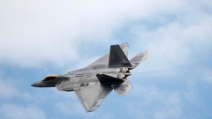FILE PHOTO: A Lockheed Martin F-22 Raptor fighter. © Peter Nicholls