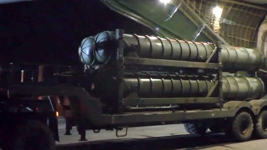 Fresh footage of S-300 system unloading in Syria released by Russian
