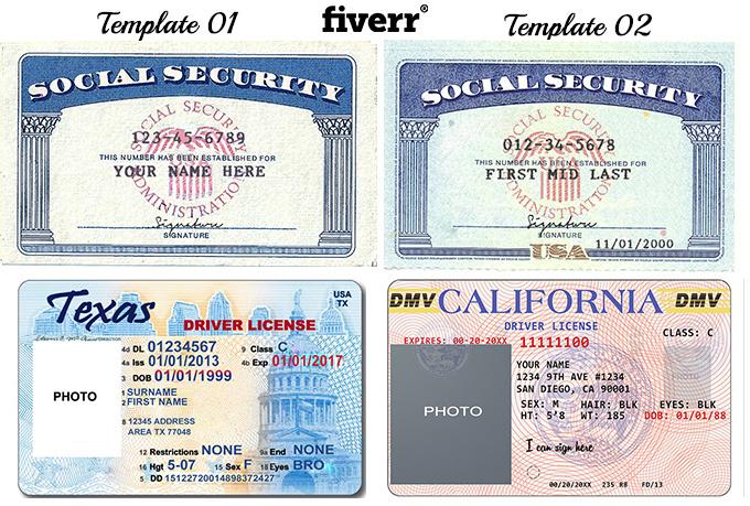 fake license template - Kendicharlasmotivacionales