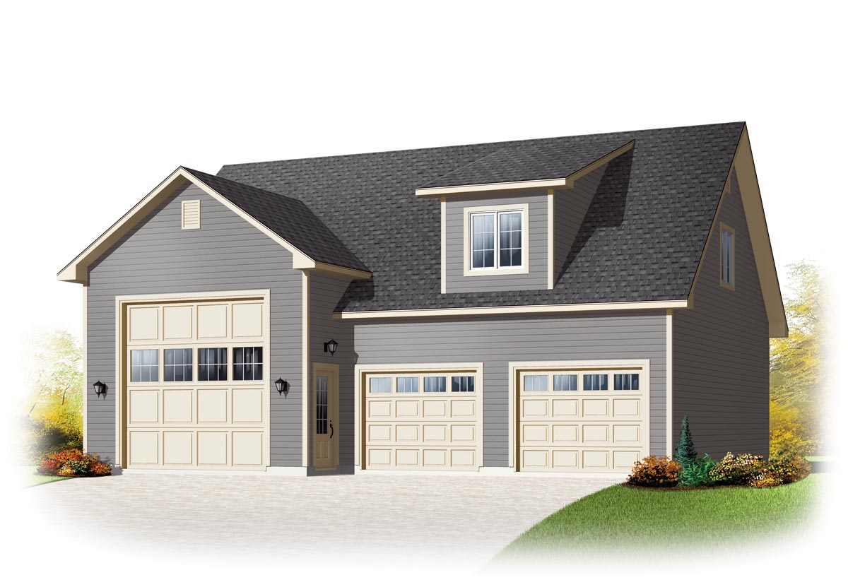 Garage Apartment Plans With Rv Storage Garage Plan 76374 Country Style Plan