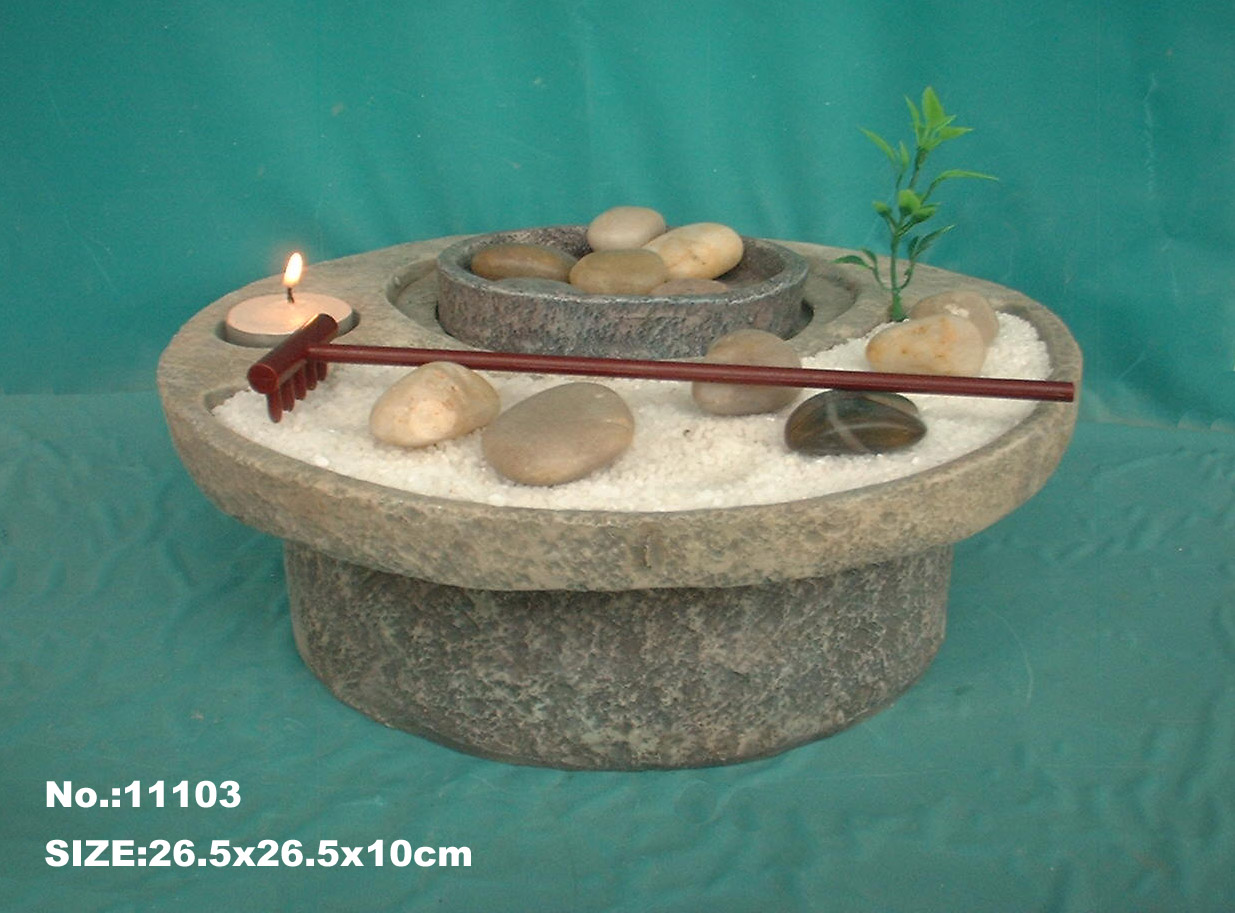 Table Top Zen Garden Feng Shui Import Zen Garden Water Fountain 3244