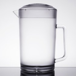 Picturesque Clear Textured Pitcher Lid Canada Lid Glass Pitcher Lid 1 Gallon Glass Pitcher Lid Webstaurantstore Glass Pitcher