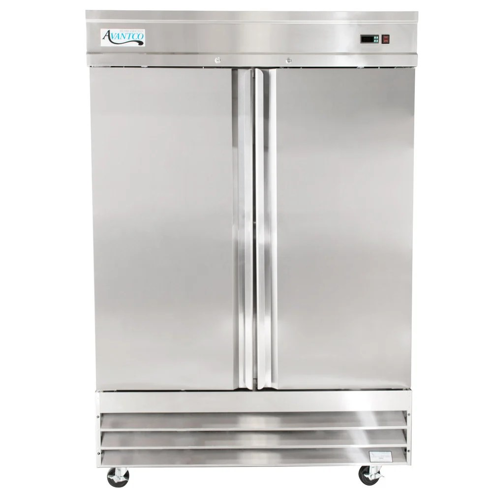 Small Stand Up Freezer Reach In Freezers Commercial Upright Freezers Webstaurantstore