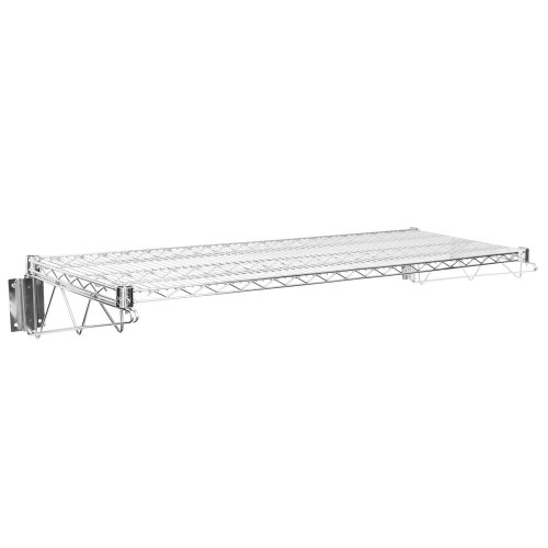 Medium Of Wall Mounted Wire Shelving
