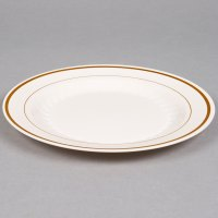"WNA Comet MP9IPREM 9"" Ivory Masterpiece Plastic Plate with ..."