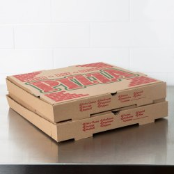 X 16 X 1 34 Kraft Corrugated Pizza Box 50case