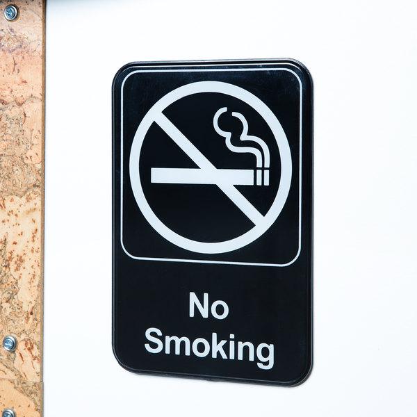 No Smoking Sign - Black and White, 9\