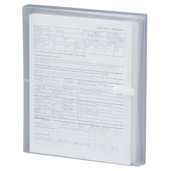 Smead 89661 Letter Size Side Load Poly Envelope - 1 1/4\