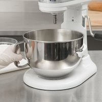 KitchenAid KN25NSF Brushed Stainless Steel 5 Qt. NSF ...