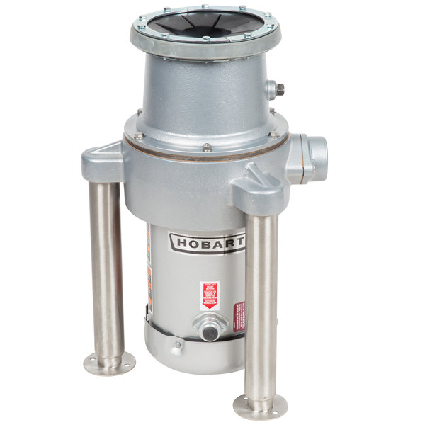 Hobart FD4/300-1 Commercial Garbage Disposer with Adjustable Flanged