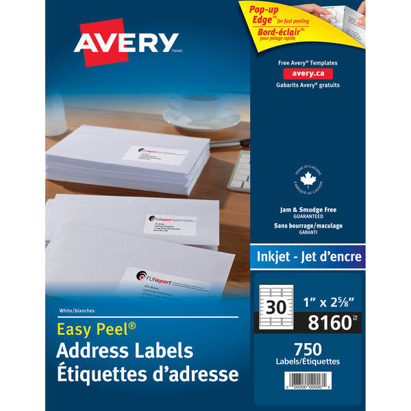Avery 08160 Easy Peel 1\