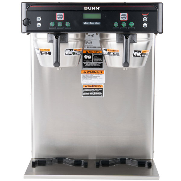 Bunn 376000002 BrewWISE ICB-TWIN Dual Infusion Series Stainless