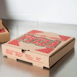 X 10 X 1 34 Kraft Corrugated Pizza Box 50case