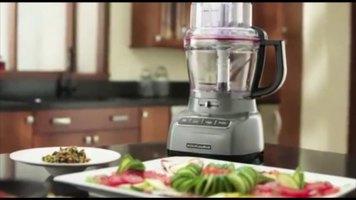 Kitchenaid Kfp1133ob Onyx Black 11 Cup Food Processor With