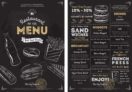 Restaurant Menu Design How to Create a Menu - menu
