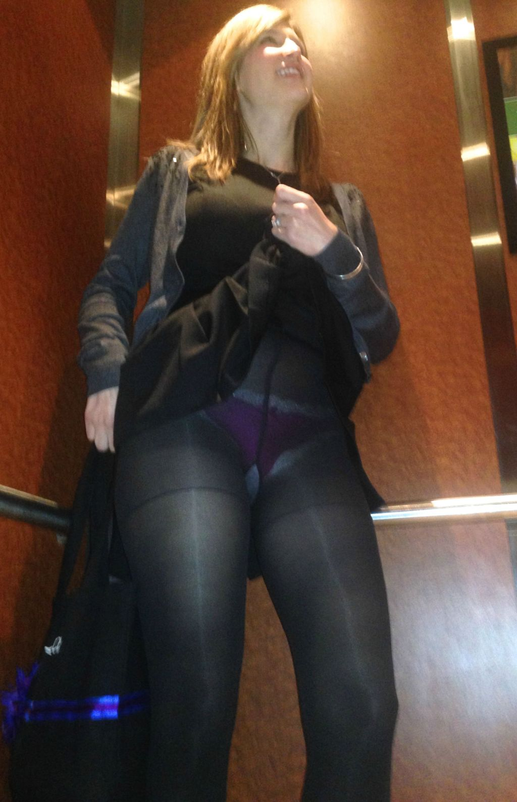 crazy wife in vegas elevator