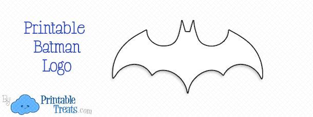 Printable Batman Logo \u2014 Printable Treats