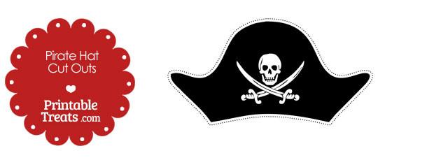 Printable Cut Out Pirate Hat \u2014 Printable Treats