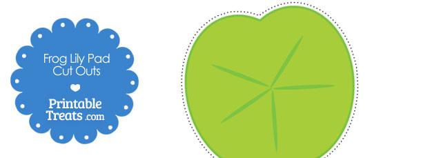 Printable Frog Lily Pad Cut Outs \u2014 Printable Treats