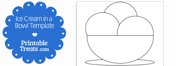 Free Printable Ice Cream Cone Shapes \u2014 Printable Treats