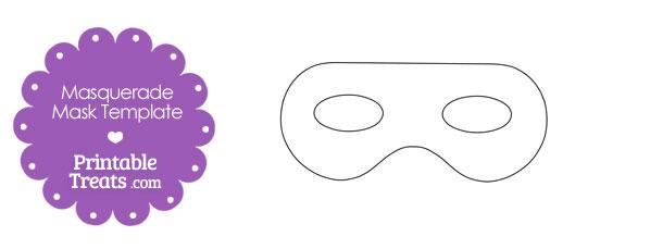 Printable Masquerade Mask Template \u2014 Printable Treats
