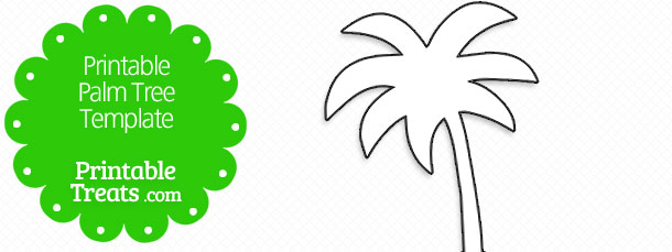 Printable Palm Tree Template \u2014 Printable Treats