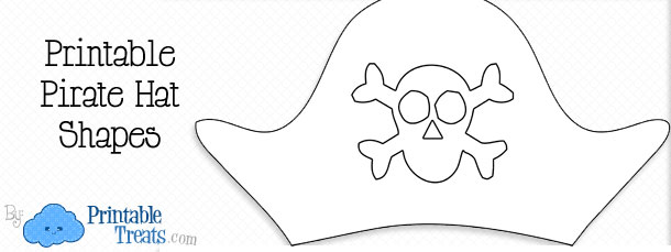 Pirate Hat Template \u2014 Printable Treats
