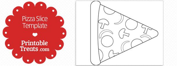 Printable Mushroom Slice Shape Template \u2014 Printable Treats