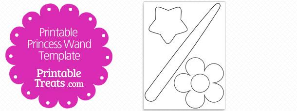 Printable Princess Wand Template \u2014 Printable Treats